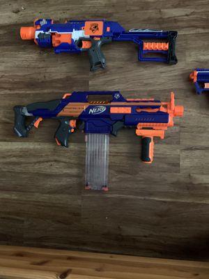 Nerf guns 50 or best offer for Sale in Sarasota, FL