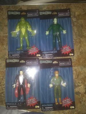 Universal Monsters Bend Em's Set for Sale in Martinsburg, WV
