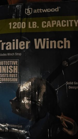 Trailer winch and leveling kit for Sale in Belle Isle, FL