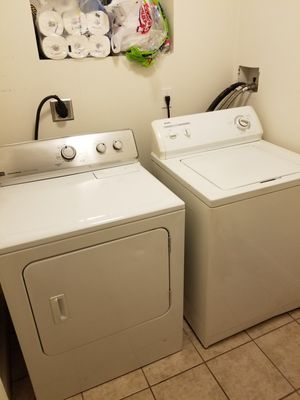 Washer and dryer set for Sale in Cumberland, RI