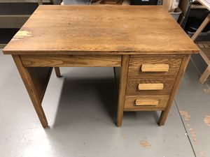 Vintage Jasper Office Desk for Sale in Portland, OR