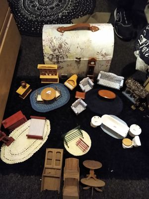 VINTAGE DOLLHOUSE FURNITURE for Sale in Seattle, WA