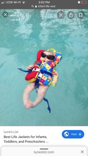 ISO infant life vest for Sale in Chester, VA