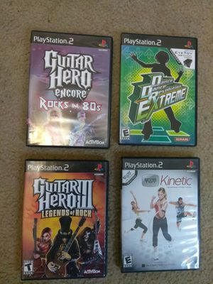 (4) PS2 PlayStation 2 games for Sale in Columbus, OH