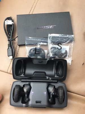 Bose SoundSport Free Bluetooth Headphones for Sale in Houston, TX