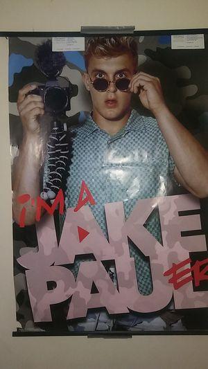 Jake Paul poster! for Sale in Cumberland, RI