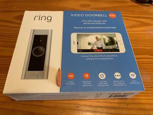 NEW Ring Video Doorbell Pro for Sale in Ashburn, VA