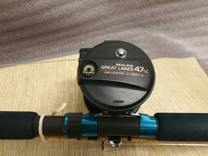 DAIWA SEALINE 47LC Conventional Reel & EAGLE CLAW Granger Ocean 9ft Go 503P Fishing Rod Combo for Sale in Norwalk, CT