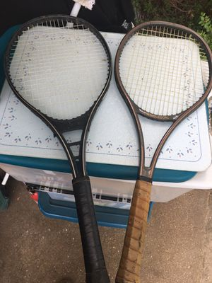 Tennis rackets only $10 each firm for Sale in Severn, MD