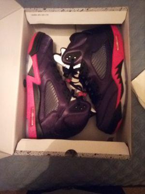 Jordan 5 BRED Satin Size 12 for Sale in Dunwoody, GA
