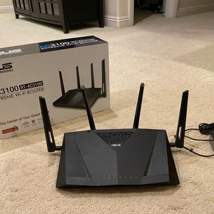 Asus RT-AC3100 Dual Band WiFi Router for Sale in Chino, CA