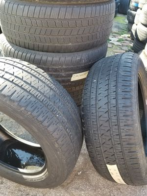 Set of 4used tires size 16/17/18/ for Sale in Nashville, TN