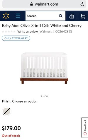 Walmart Olivia Baby Crib - Used for Sale in New York, NY