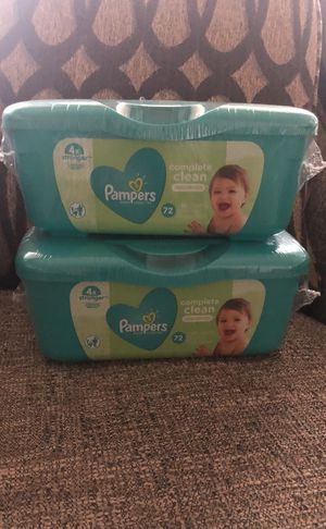 2 of Pampers Wipes . Please see all the pictures and read the description for Sale in Alexandria, VA