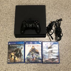 PS4 1TB With Games And Controller for Sale in Modesto, CA