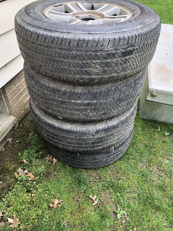 Bridgestone Dueler H/T p255/70/r17