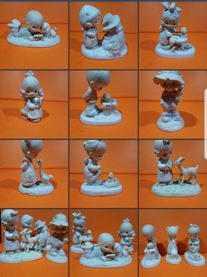 9 - Precious moments figurines no boxes for Sale in Pasadena, CA