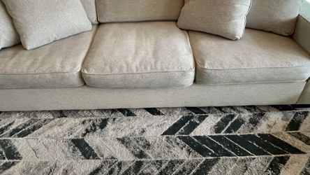 Cream Fabric Sofa, Created for Macy's for Sale in Wexford,  PA