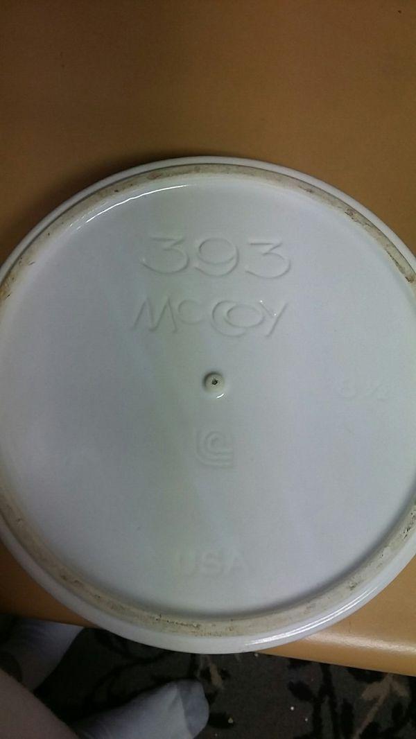 Vintage McCoy Pottery Flower Pot