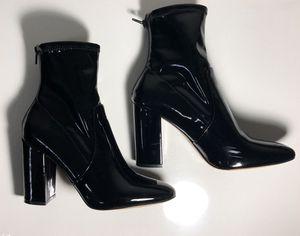 ALDO Aurella Black Patent Dress Boots(7.5) for Sale in Chicago, IL