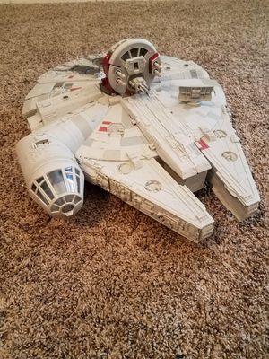 Star Wars The Force Awakens Battle Action Millenium Falcon Hasbro Nerf for Sale in Hemet, CA