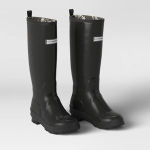 Women's Tall Rain Boots Black Size 7,8,9 - Smith & Hawken for Sale in El Monte, CA