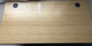 Fully Jarvis Bamboo Desk top for Sale in Long Beach, CA