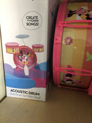 Minnie Mouse drum set for Sale in Glendale, AZ