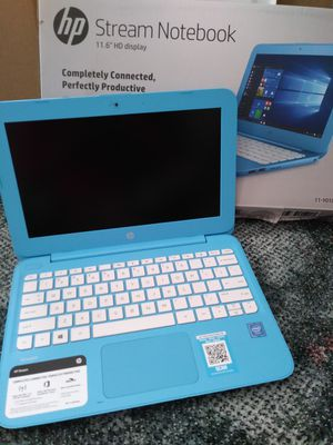 HP Notebook - New $150.00 firm - no haggled cash only no holds for Sale in Elyria, OH