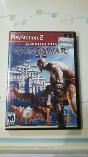 God of War game (Greatest Hits for PS2) for Sale in Upland, CA