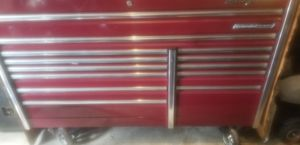 Snap on tool box. 68 in wide. 30 in deep. 48 in high for Sale in Brandon, FL