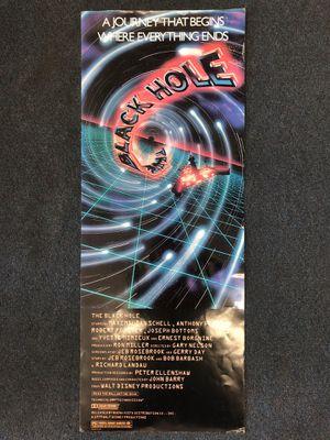 Vintage 1979 Black Hole Movie Poster Pawn Shop Casa de Empeño for Sale in Vista, CA