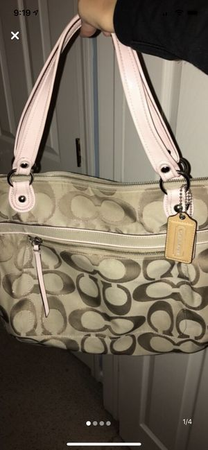 Coach monogram tote bag for Sale in Tinley Park, IL