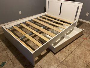 Bed frame (full) for Sale in Santa Ana, CA