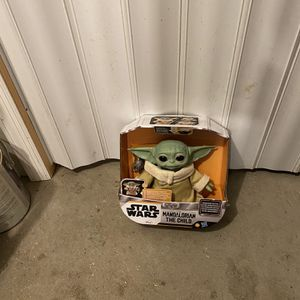 Star Wars The Child (Baby Yoda) Animatronic, 25+ Sound and Motion Combinations for Sale in Livingston, NJ
