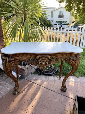 Incredible Antique French Consul Table for Sale in Burbank, CA