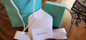 Tiffany & Co box *only* for Sale in Turlock, CA