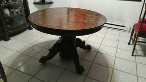 Antique Oak Claw Foot Table for Sale in Glen Burnie, MD