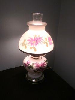 Vintage Milk Glass Hurricane Lamp for Sale in Gaithersburg,  MD