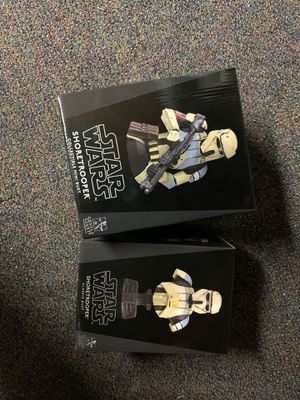 Star Wars RARE # Collectible - Shoretrooper Bust & Shoretrooper Mini Bust for Sale in La Habra Heights, CA