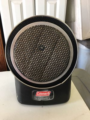 Coleman camping space heater. Propane. for Sale in Placentia, CA