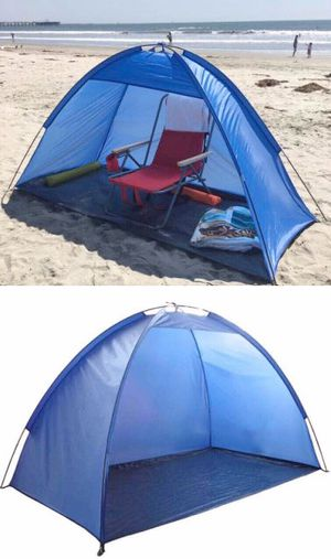 Brand new 7x3 feet beach tent outdoor sun shade canopy for Sale in Whittier, CA