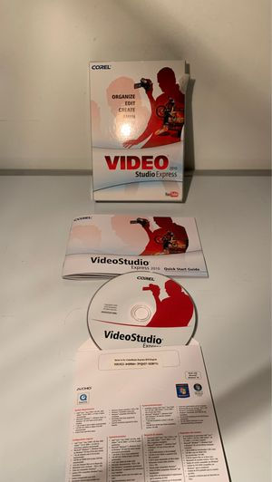 Coral video studio express software with instructions for Sale in Easton, PA