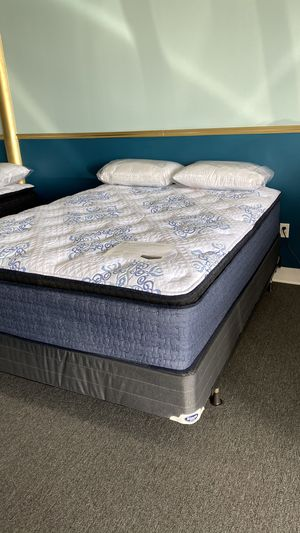 NEW Isabella Queen Pillow Top Foam Mattress GET IT TODAY 4 for Sale in Irving, TX