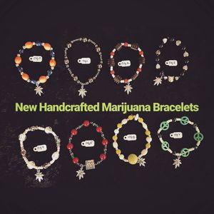 420 Marijuana Stretchy Beaded Bracelets for Sale in Concord, MA