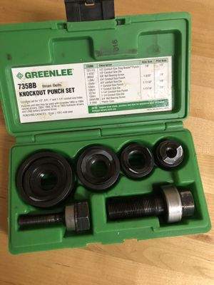 Green Lee knock out set for Sale in Reynoldsburg, OH