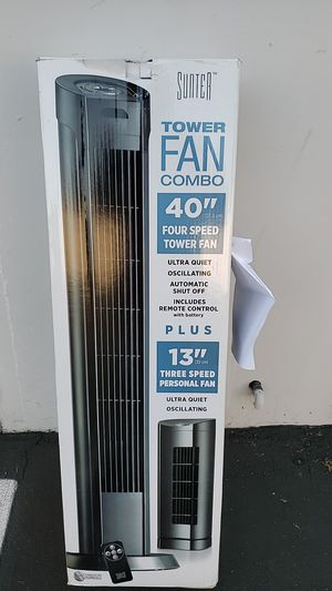Sumter Tower Fan Combo for Sale in Chino, CA