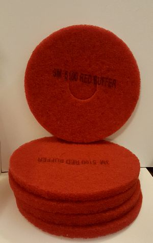 """13"""" 3M - 5100 Red Buffer for Sale in Portland, OR"""
