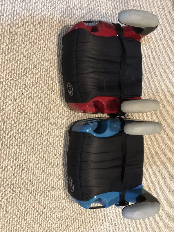 2 Evenflo Child Booster Car Seats