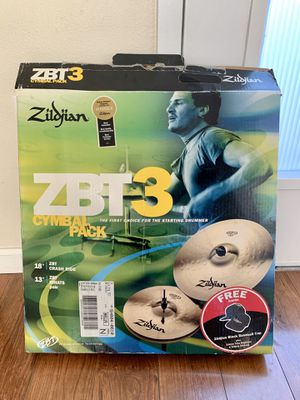 Zildjian Cymbal 3 Pack and original set for Sale in Anaheim, CA